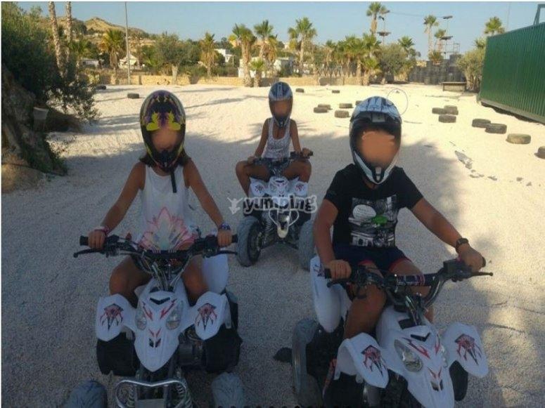 Circuito de quads niños