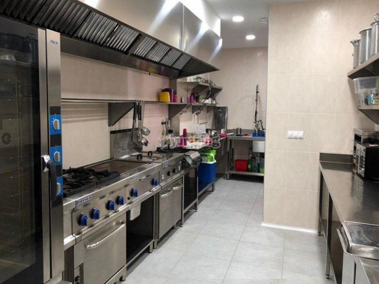 Cocina en nuestras instalaciones