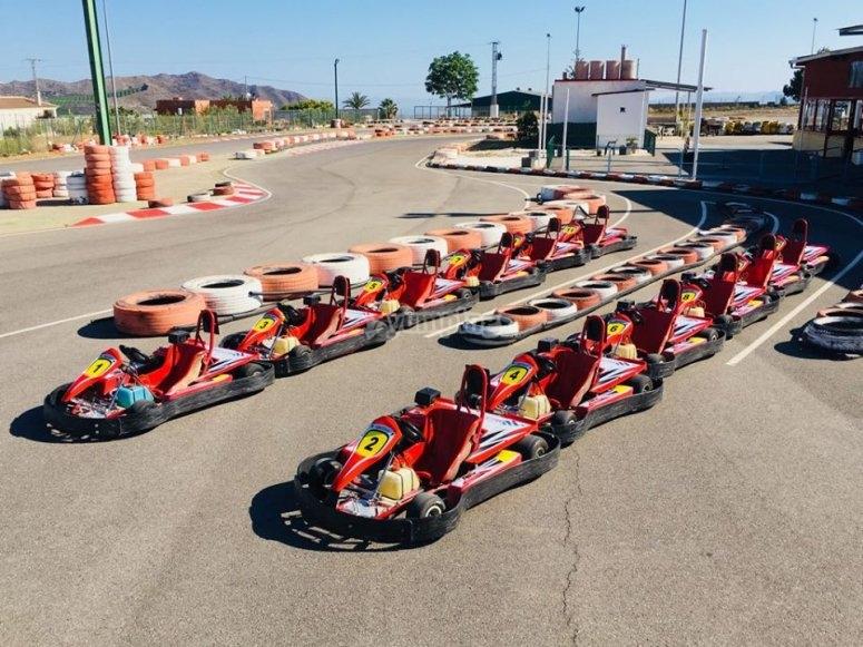 The ready-made karts