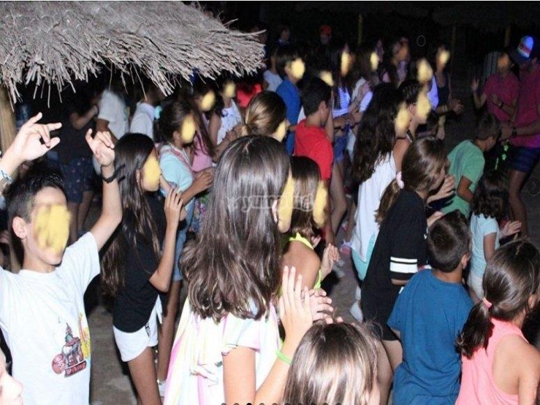 Fiesta temáticas nocturnas