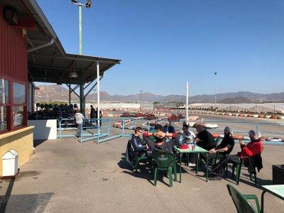 400cc卡丁车比赛与Águilas的前几个赛段