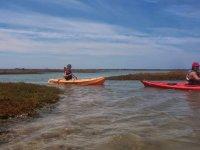 Navegar en las marismas de Sancti Petri