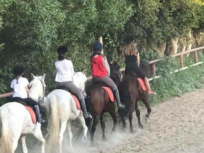 Ruta a caballo 2 horas desde Mijas Costa