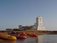 Travesía kayak Castillo Sancti Petri adultos 2h