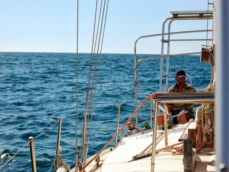 Patrón de barco