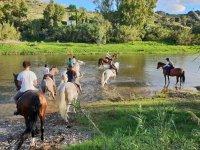 在Sierra de Mijas骑马3小时