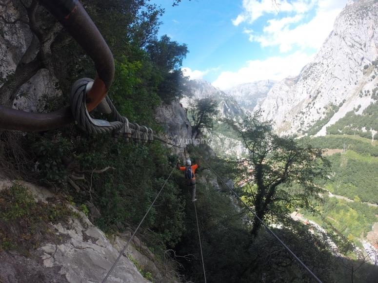 Passaggio attraverso aree di vertigine