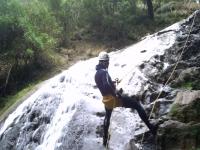 Rappel con cascata