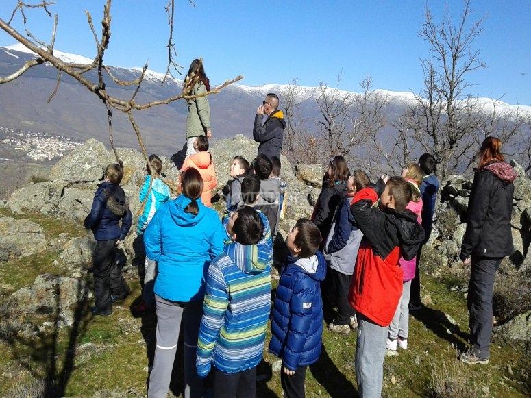 Salidas al monte con niños