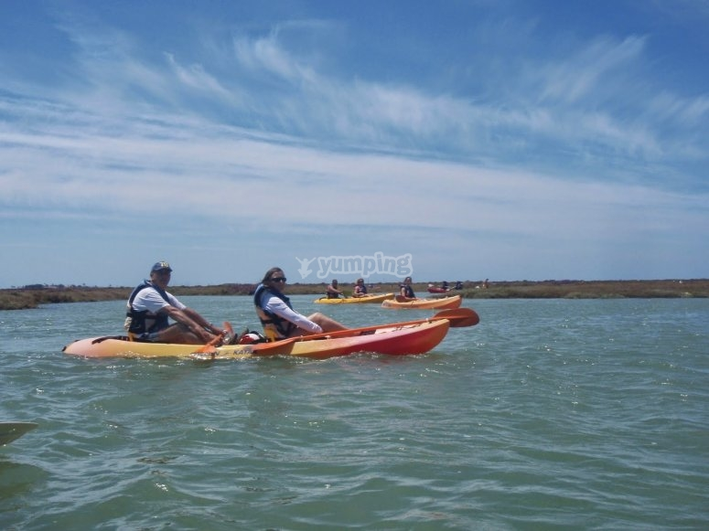 Clases iniciación al kayak