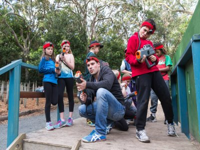 Outdoor laser tag battle 2 hours Vitoria