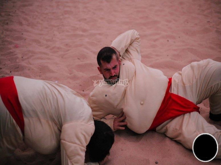 Lucha de sumos Ibiza