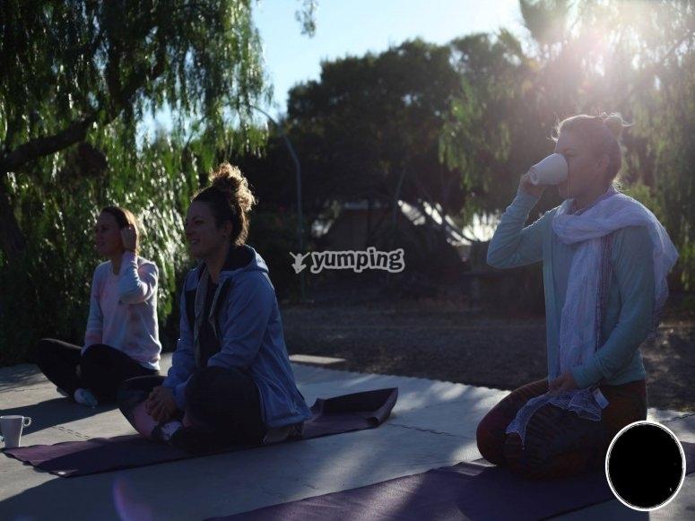 Sesiones de yoga en Ibiza