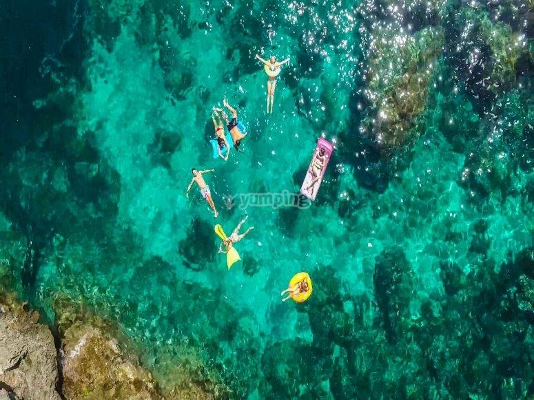 En el mar Mediterráneo