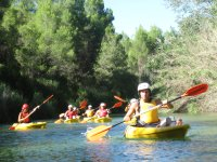 Canoas por el río