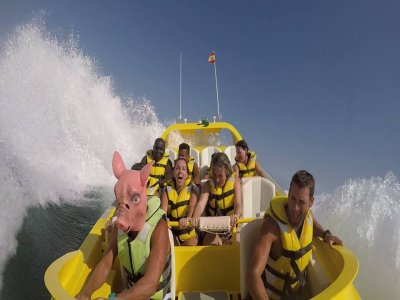 Jet Boat Stag Do Torrevieja Free Groom