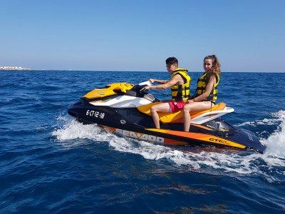 Jet ski parasailing parejas team building Alicante