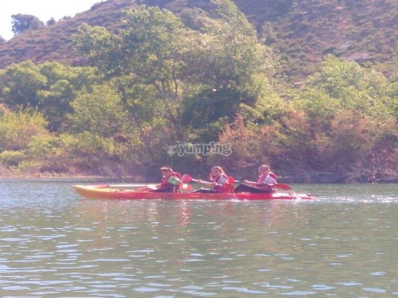 皮划艇旅行4天