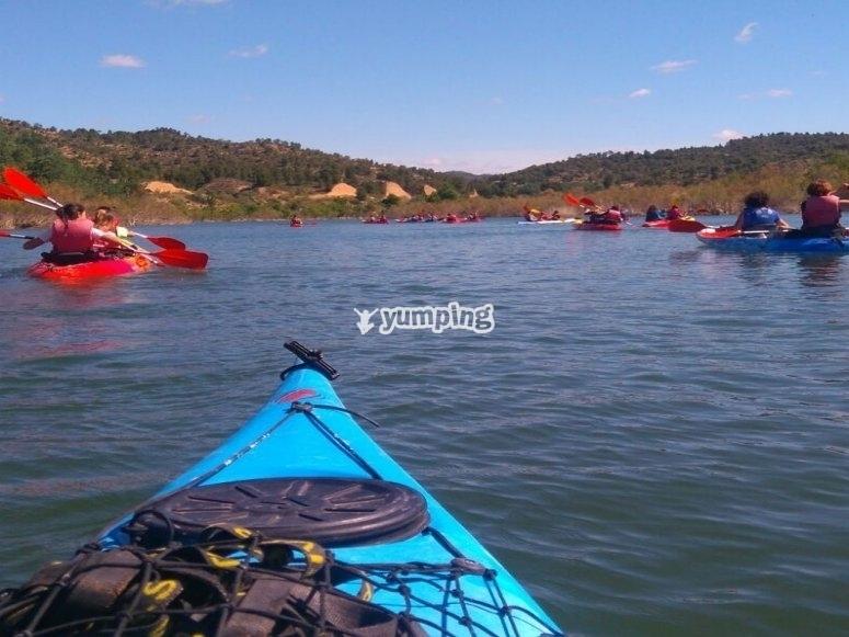 埃布罗河(Ebro)皮划艇之旅