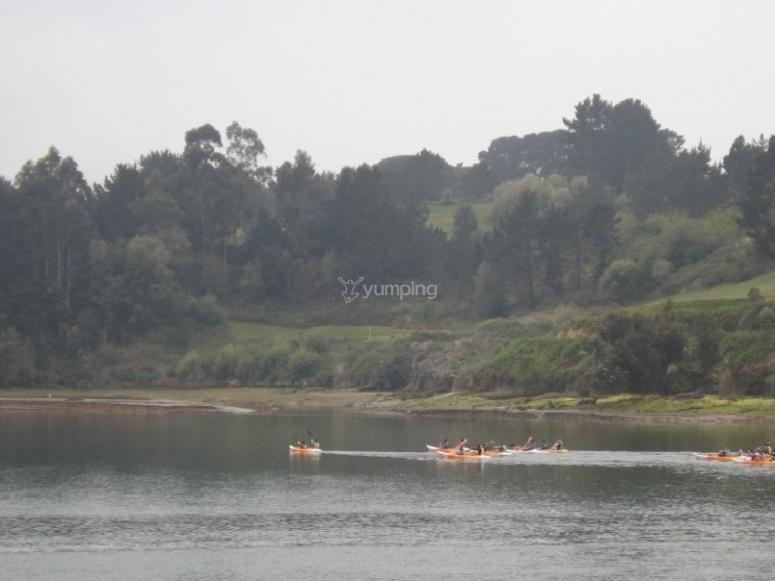 Alquiler de canoa en Astillero