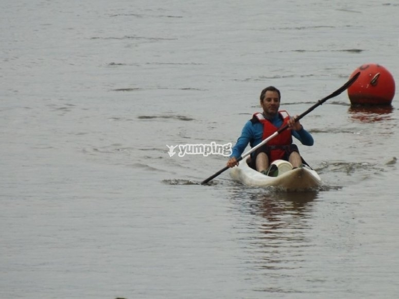 Paseo en canoa por Bahía de Santander
