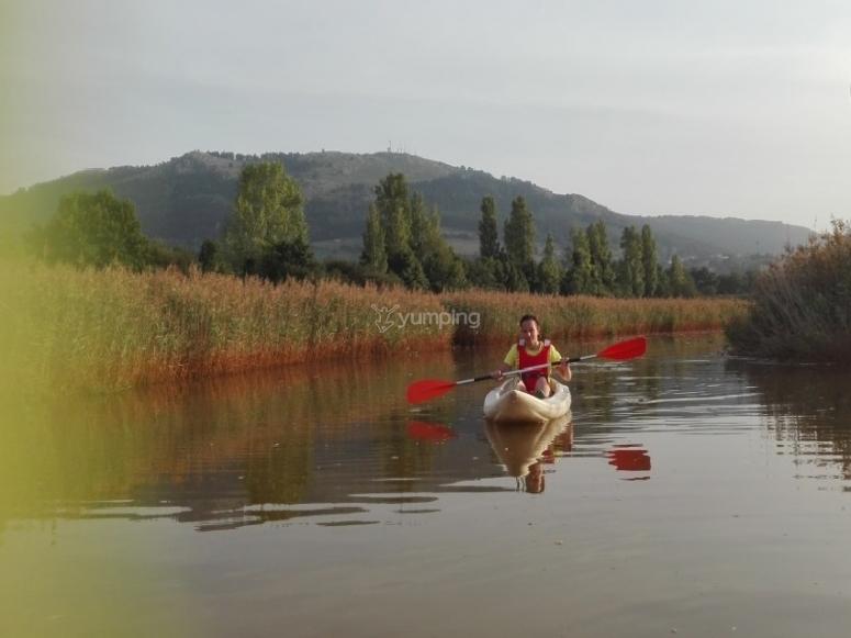 Travesia en canoa por ría