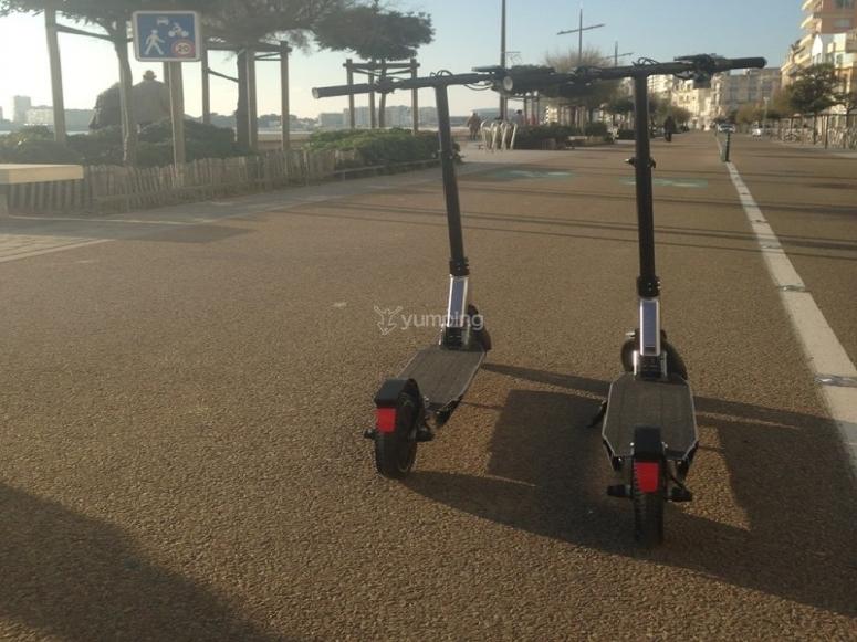 Patinetes eléctricos en Palma de Mallorca