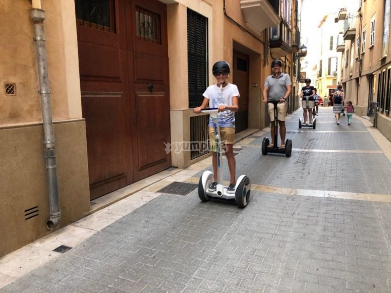 Guided tour by segway Palma