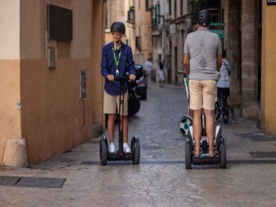 Guided route Segway Ninebot Mallorca 1h 15 min