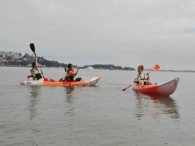 Bachelor party Canoe Descent Ría del Pas 3 km