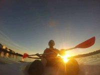 Recorrido Canoa Ría Bahía Santander Colegios 2 h