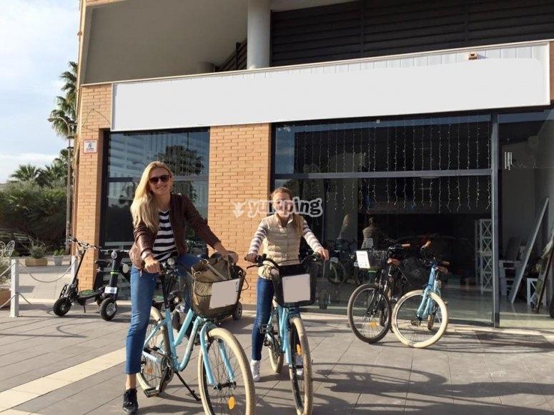 Alquiler de bicis para dos