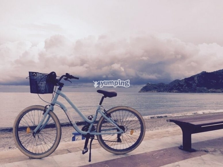 Bike ride in Alicante
