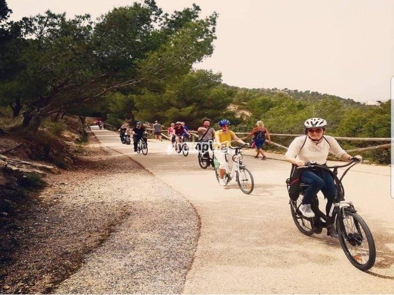 Paseo en bici por zonas rurales de Alicante