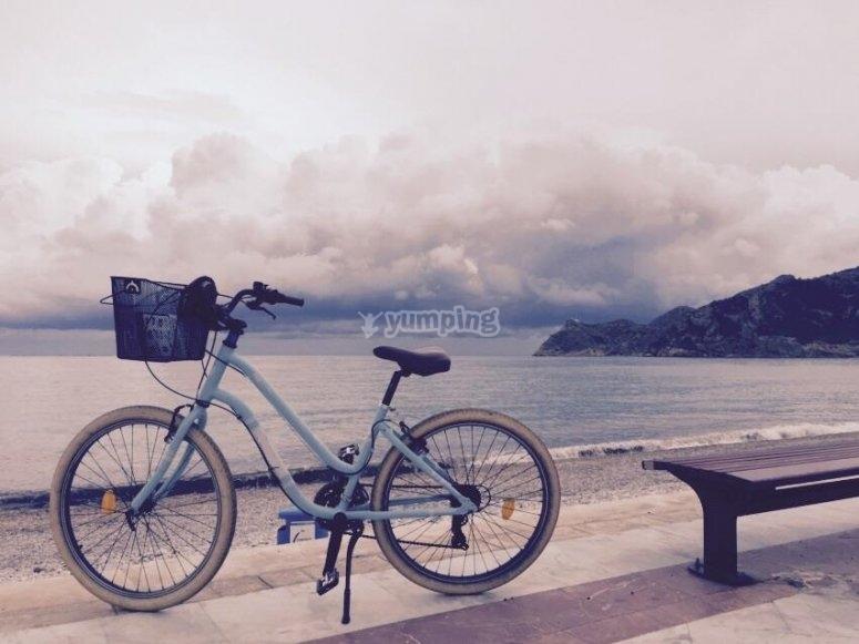 Bici de paseo en Costa Blanca