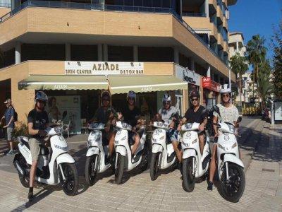Noleggio scooter 125 cc ad Alicante 1 giorno