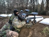 Batalla de paintball