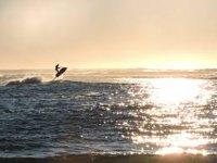 Partenza jet ski a due posti alba Isole Medes