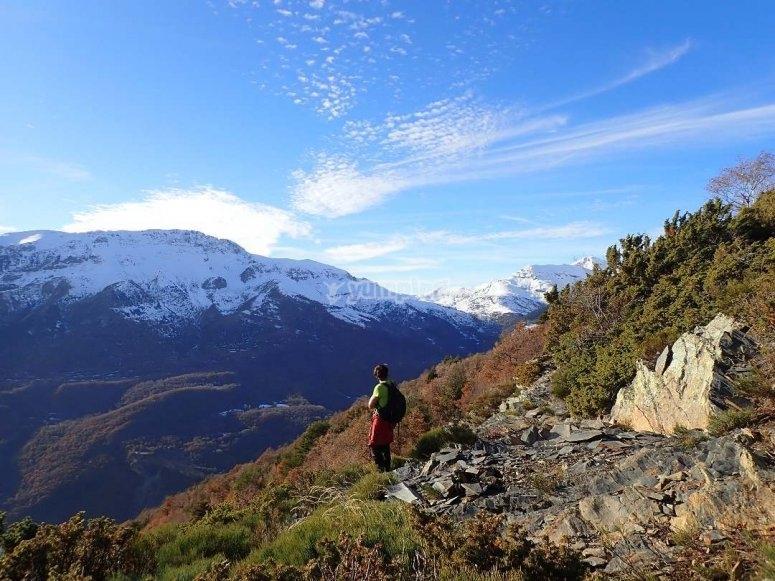 Ruta guiada de trekking por Posets