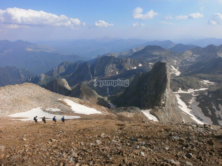 Trekking en los Pirineos Huesca