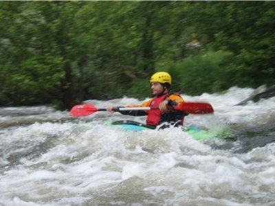 Kayak descent course river Alberche 2 days