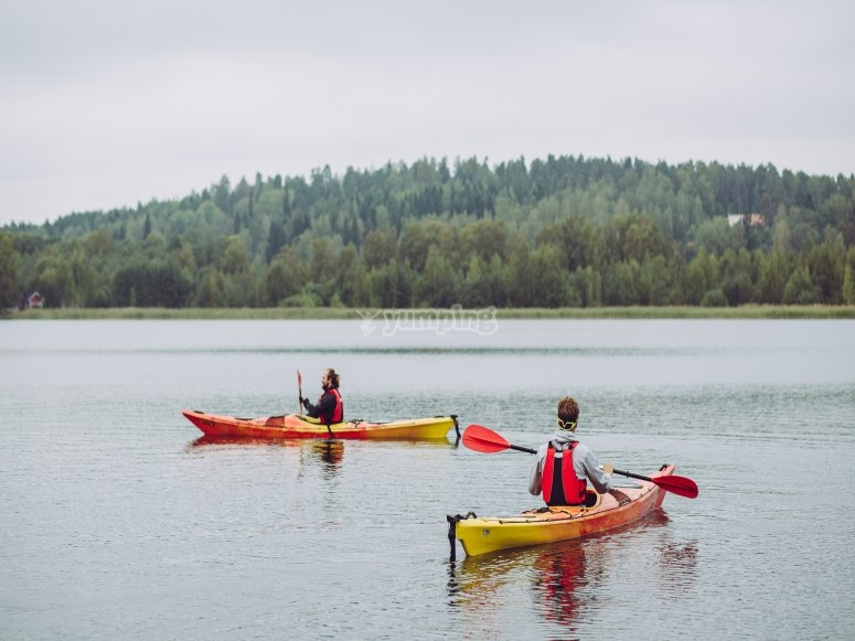 Stability on the kayak