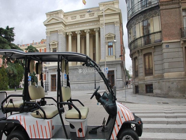 Paseo en buggy La Latina