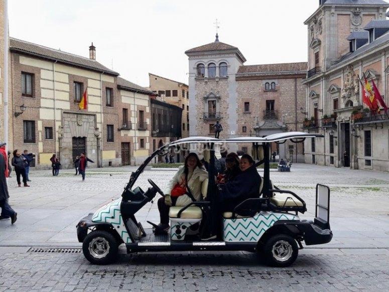 Ruta en buggy por el centro de Madrid