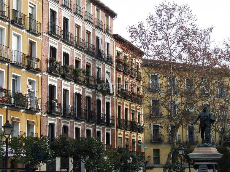 Barrio de la Latina en Madrid