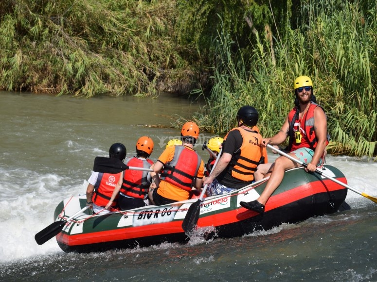 Rafting pour les écoles