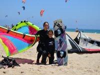 洗礼塔里风筝冲浪风筝冲浪课程儿童