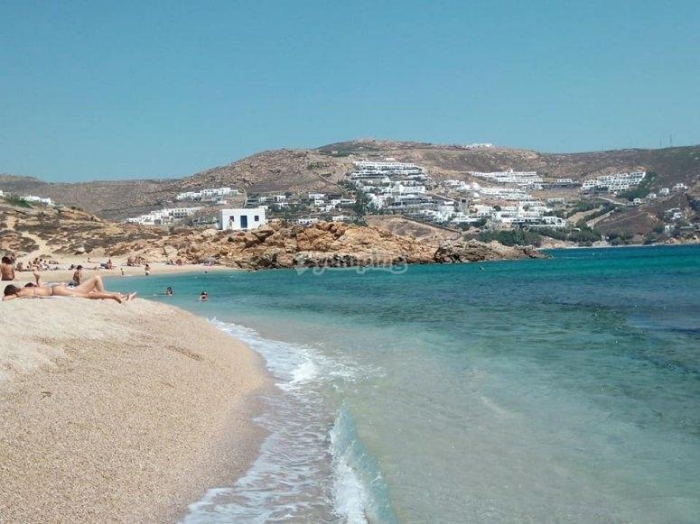 Playa de Denia para praccticar actividades nauticas
