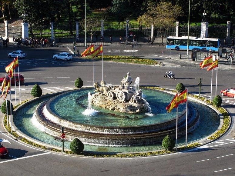 Fuente de Cibeles Ayuntamiento de Madrid