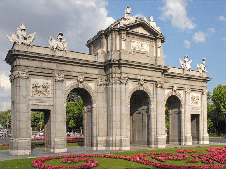 Vistas Puerta Alcalá Madrid